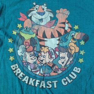 *3/$25* Kellogg's Teal Vintage Breakfast Club Tee